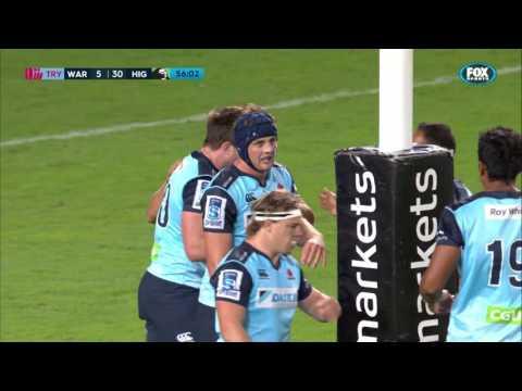 Super Rugby; Waratahs V Highlanders (Round 4)