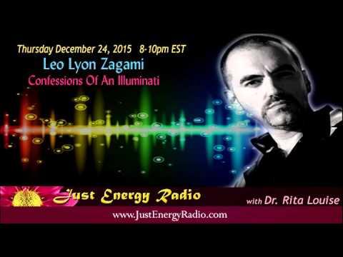 Illuminati Conspiracy:  Startling Secrets Revealed - Leo Lyon Zagami - Just Energy Radio