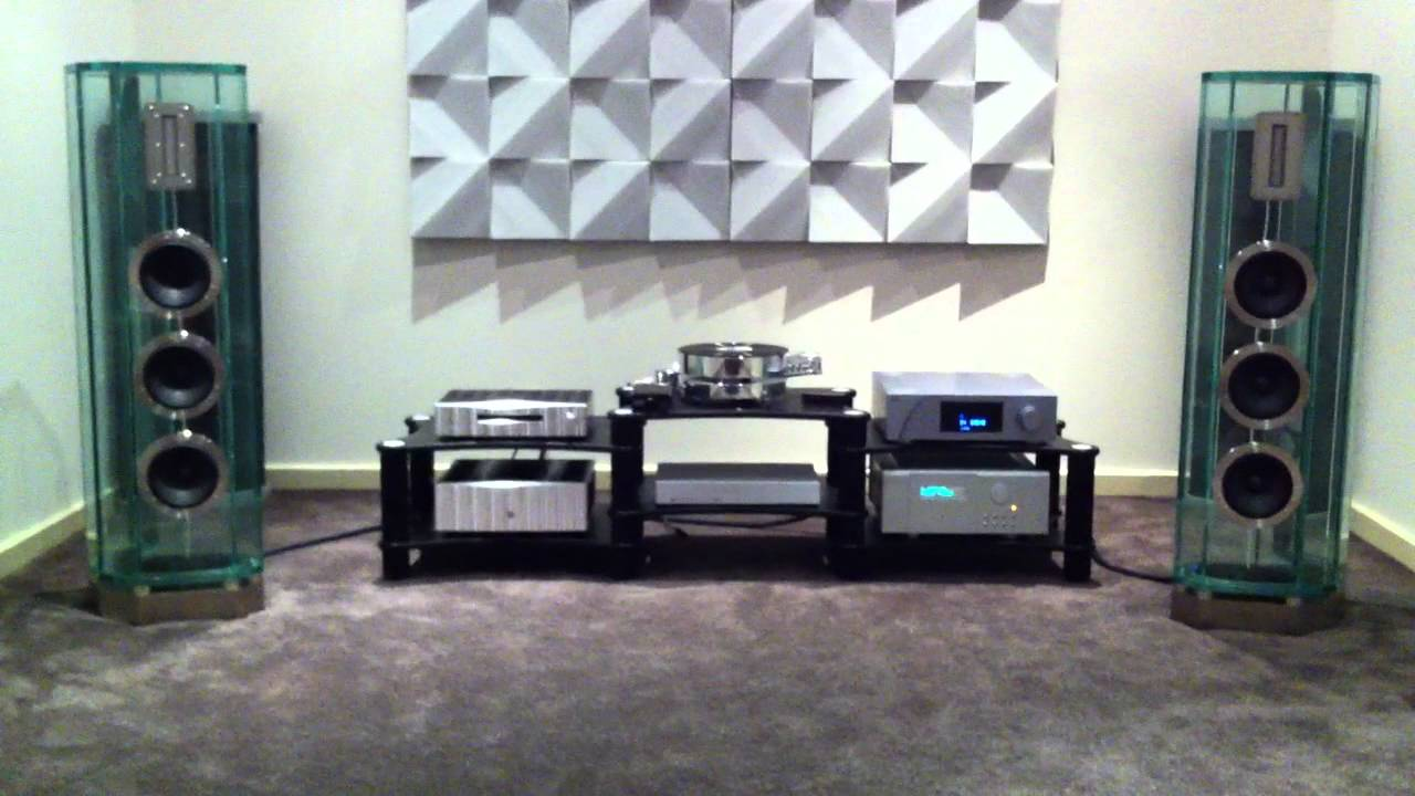 Ch Precision D1 Player Crystal Cable Arabesque Speakers
