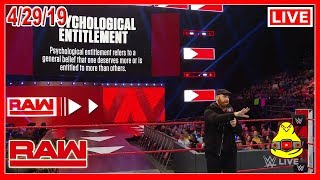 WWE RAW 4/29/19 Live Review Show