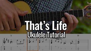 Frank Sinatra - That's Life (Ukulele Tutorial)
