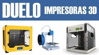 Impresoras 3D: BQ Witbox vs 3D UP Plus2 vs da Vinci 1.0 (comparativa en español)