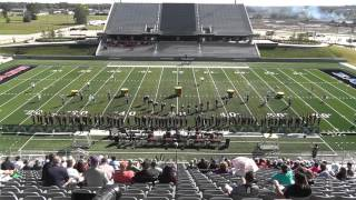 magnolia west high school band 2015 uil 5a area f marching contest