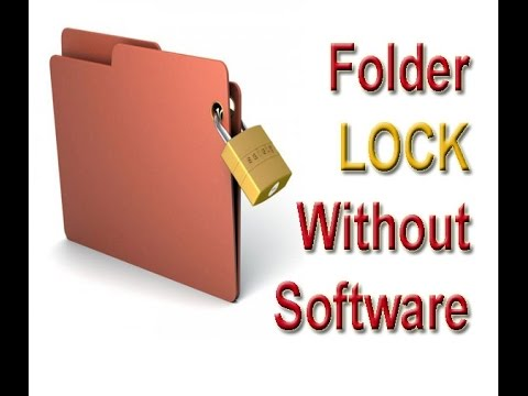 Folder Lock and Hide without any Software - YouTube