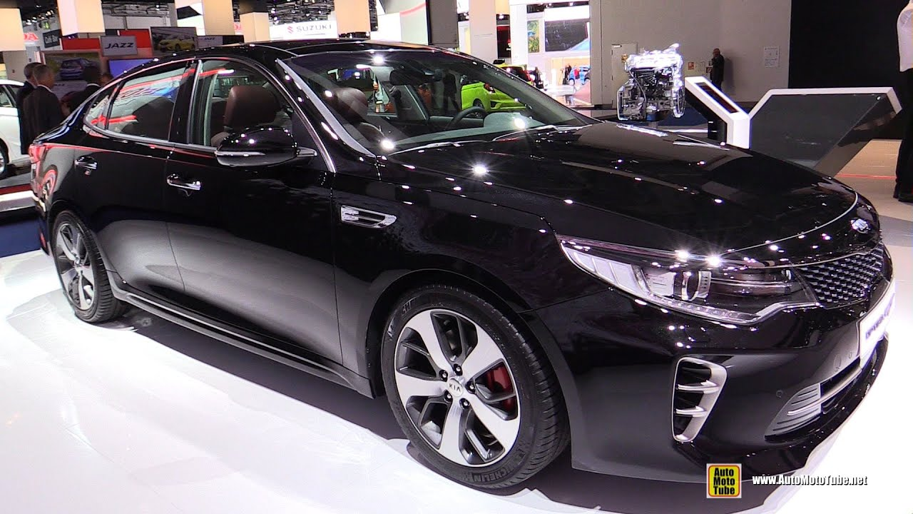 Lastest 2016 KIA Optima GT  Exterior And Interior Walkaround