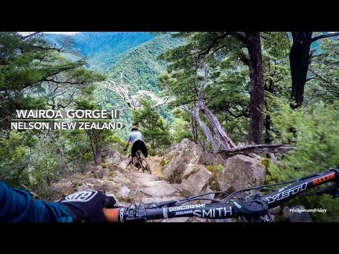 Wairoa Gorge Bike Park in Nelson, New Zealand