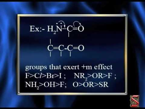 Organic chemistry(Mesomeric effect -23)