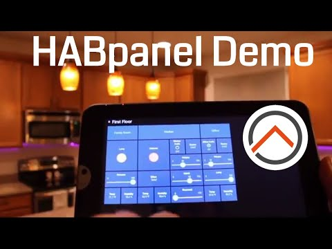 openHAB 2 HABpanel UI Demo | Quick How to get started guide