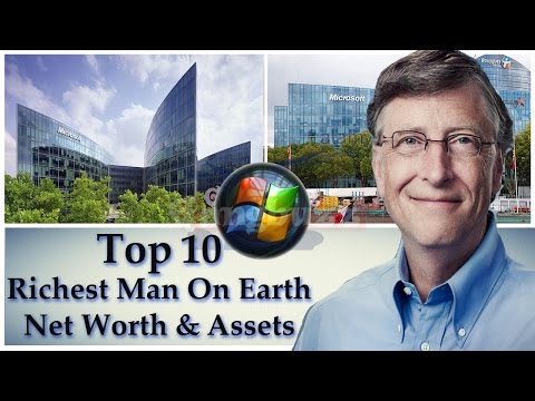 Richest Man In The World - Top 10 Richest People In The World | Assets * Net Worth * Sources |