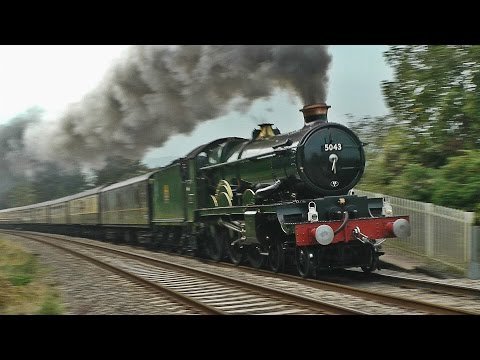 5043 rips through Abergavenny! - The Welsh Marches - 20/09/14