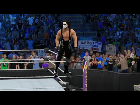 WWE 2K15 Sting CAW - YouTube