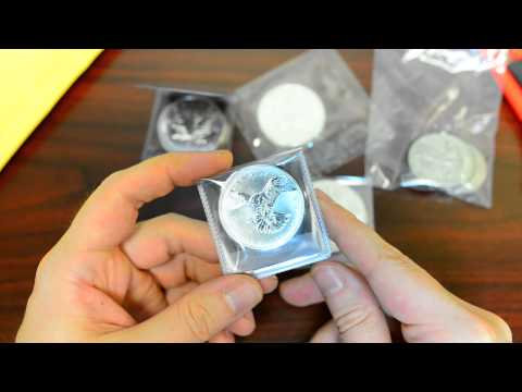 New Silver/Gold Bullion Unboxing. It's a buyers market now!