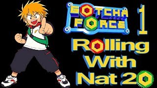 Gotcha Force - 1 - The Best Game on GameCube