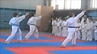 Кубок по каратэ спортивный клуб Атлант город Клин 29 03 2014