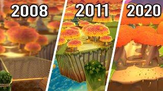 Mario Kart Series - All Maple Treeway Tracks (2008 - 2020)