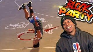 Defensive Liability 😆/ GAME Saving BLOCK @ The Block Party - NBA 2K19 3v3