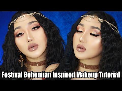 Easy Festival Makeup