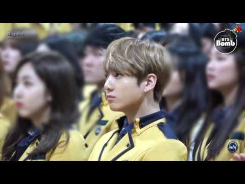 [ENG SUB] [BANGTAN BOMB] Jung Kook went to High school with BTS for graduation!