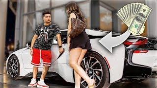 Catching Crazy Latina Gold Digger In My Dream Car!