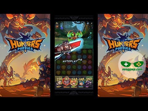 Hunters & Puzzles (Android IOS APK) - Puzzle RPG Gameplay Chapter 1-1 To 1-7