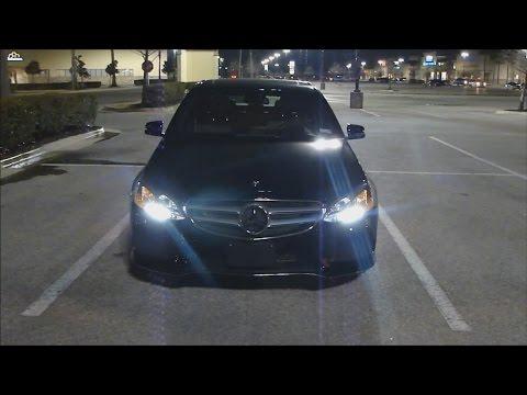 2015 Mercedes Benz E Class (Night Review) LED