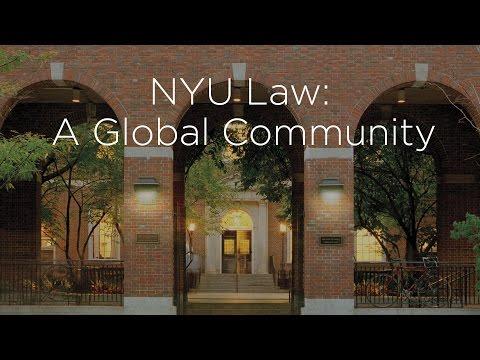 NYU Law's LLM Program: A Global Community