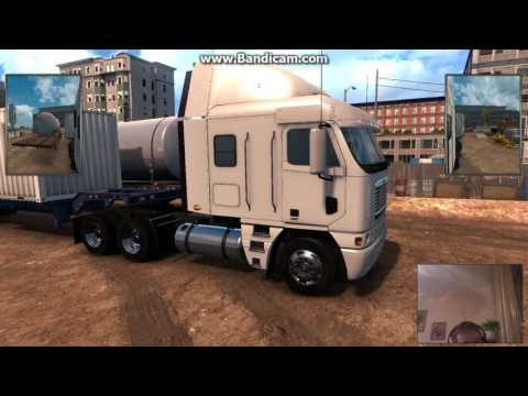 American Truck Simulator - Будни эмигранта