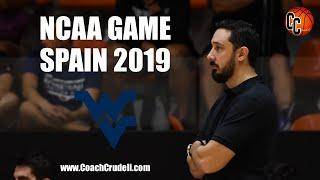 NCAA West Virginia D1 vs CC Basketball Academy Select Team 2019