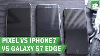مقارنة جديدة بين كاميرا Pixel XL و Galaxy S7 Edge و iPhone 7 وتفوق جديد لهاتف جوجل