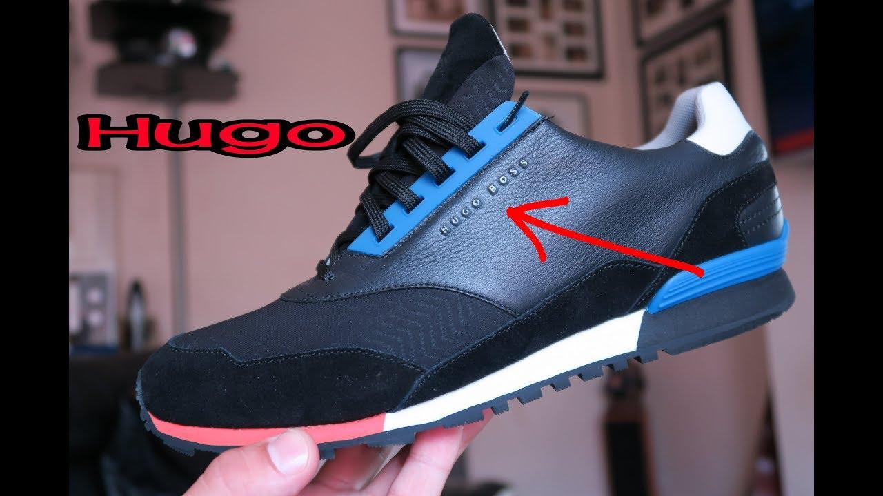 Hugo Boss Mens Black Zephir Runner