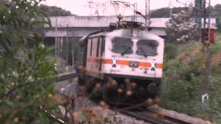 WAP-7 of RPM with Lal Bagh Express DateTime; 2016-04-09 06:53