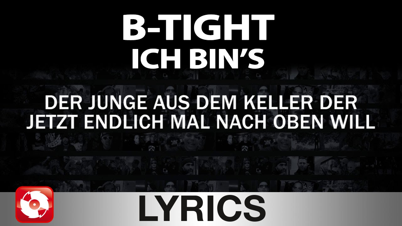 Ich B b ich bin s aggrotv lyrics karaoke official version