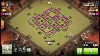 Clash of clans [Fallen Skies] th6 and th7