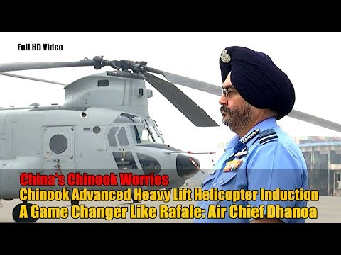 Chinook Helicopter Induction Into Indian Air Force Enhances Strategic Capabilities