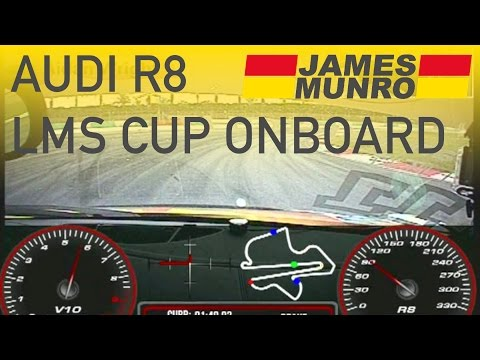 Onboard Audi R8 LMS Cup Sepang