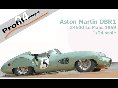 Kit 1 24 Aston Martin Dbr1 Le Mans 1959 Profil 24 Models Youtube