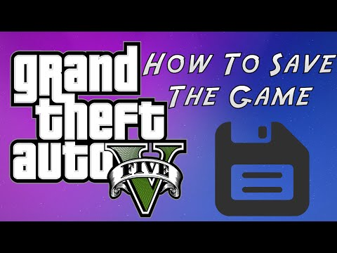 GTA 5 How To Save The Game