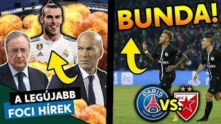 Zidane Bale miatt távozott a Real-tól? Bunda volt a PSG-Crvena Zvezda BL-meccs?   Foci Hírek