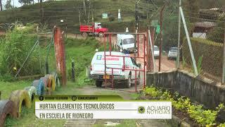 Hurtan elementos tecnológicos en escuela de Rionegro