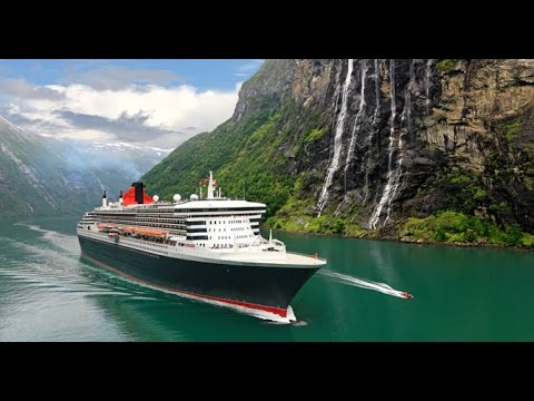 The Day the Queen Mary 2 came to Saguenay, Quebec, Canada