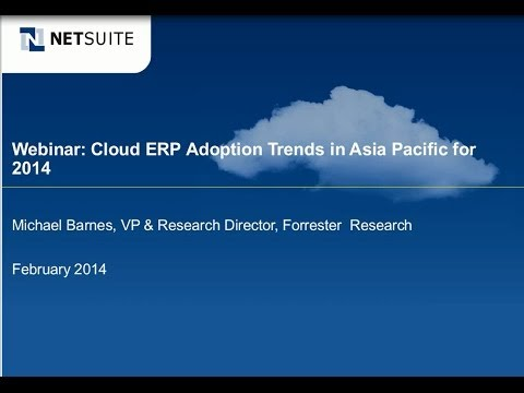 Webinar: Cloud Adoption Trends in Asia Pacific for 2014