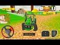 Mega Tractor Simulator - Farmer Life Android Gameplay 2018 #1