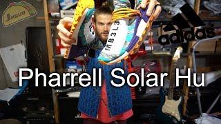 Pharrell Solar Pack Orange Adidas NMD Hu review + Puma Hybrid and David Beckham ultraboost wear test