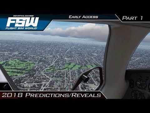 Flight Sim World | 2018 Predictions/Reveals! | Piper Malibu Mirage | Early Access