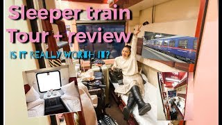 Sleeper Train Tour + Review! Is it really worth it? | Kim Chiu PH