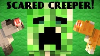 Repeat youtube video Why Creepers are scared of Cats - Minecraft