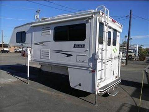 2006 Lance 1181 Truck Camper Youtube