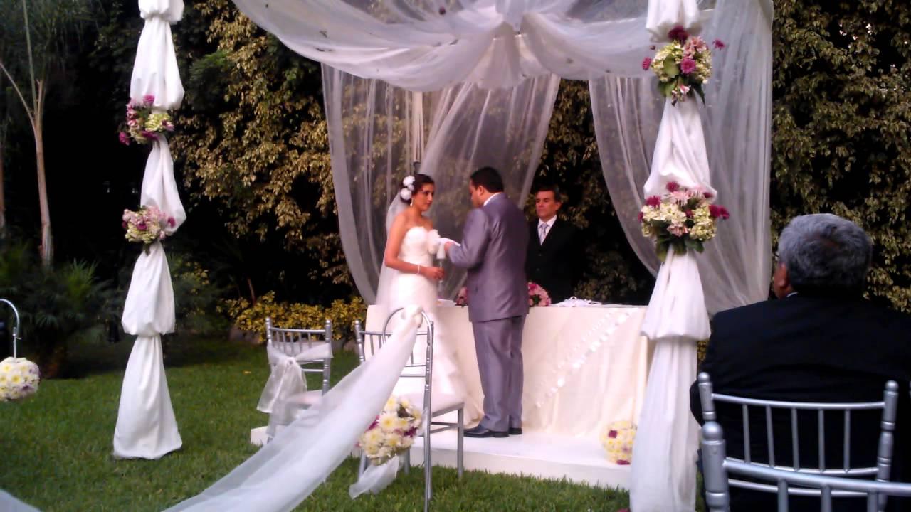 Matrimonio Catolico Votos : Votos matrimoniales boda luis & karen youtube