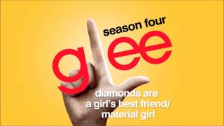 Diamonds Are a Girl's Best Friend / Material Girl - Glee [HD Full Studio] thumbnail
