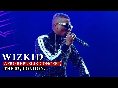 WIZKID 'SHUTDOWN / SOLD OUT' AFRO REPUBLIK CONCERT, THE 02, LONDON